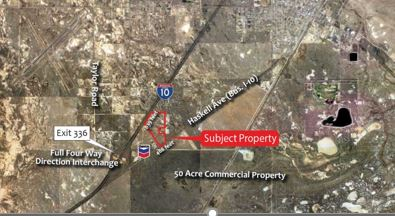 50 Acres – Prime Commercial Development in Willcox | Tucson Realty